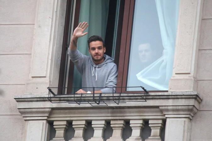 Liam Payne à Milan le 12 décembre 2013