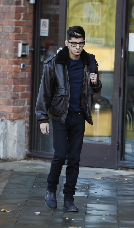 Zayn Malick le 17 octobre 2012 à Manchester