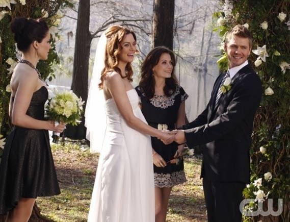 Mais c'est avec Peyton qu'il s'est marié !