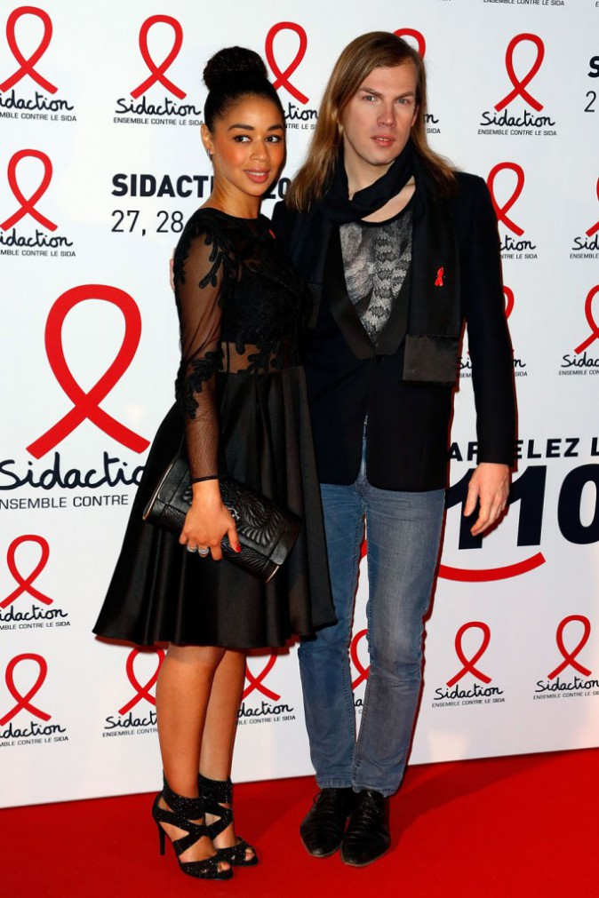 Aurélie Konaté et Christophe Guillarmé