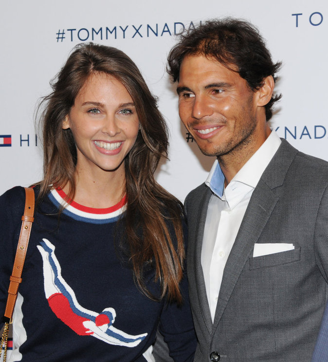 Ophelie Meunier et Rafael Nadal