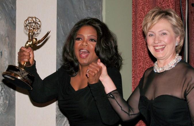 Oprah Winfrey et Hilary Clinton