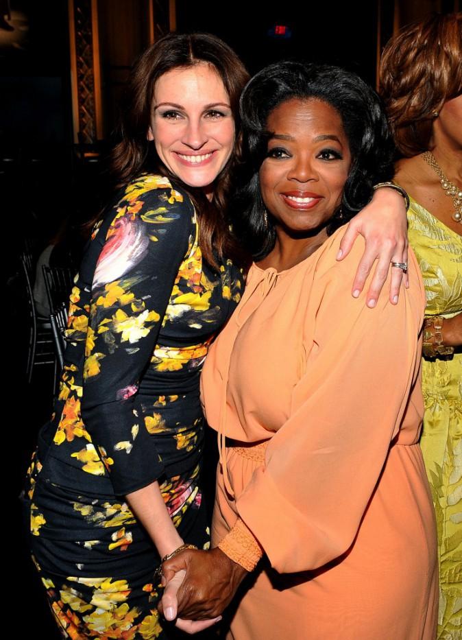 Oprah Winfrey et Julia Roberts