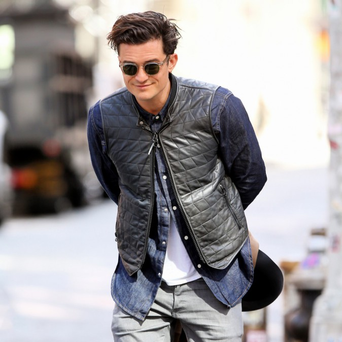 Photos : Orlando Bloom : bobo chic pour faire du shopping à New York !