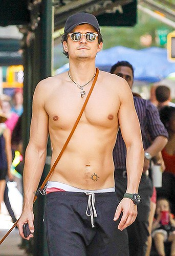Orlando Bloom à New-York le 16 juillet 2013