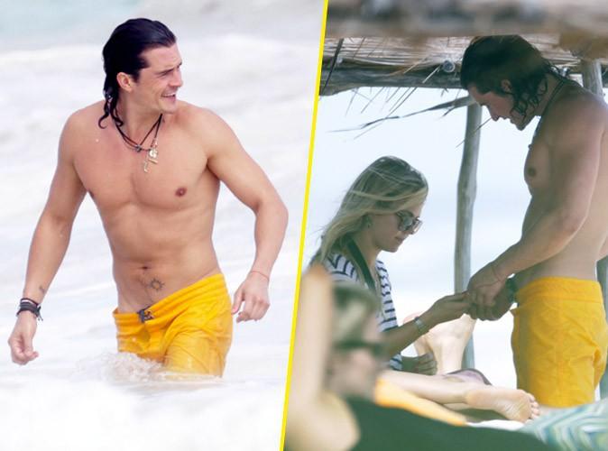 Photos : Orlando Bloom : tout en muscles pour impressionner la remplaçante de Miranda Kerr ?