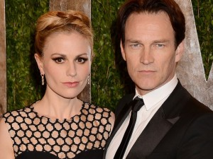 Photos : Oscars 2013 : Anna Paquin et Stephen Moyer : un couple figé qui vampirise les regards !