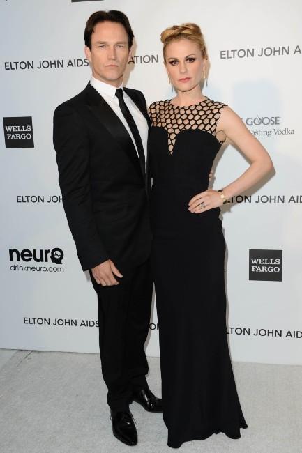 Anna Paquin et Stephen Moyer le 24 février 2013 à Los Angeles