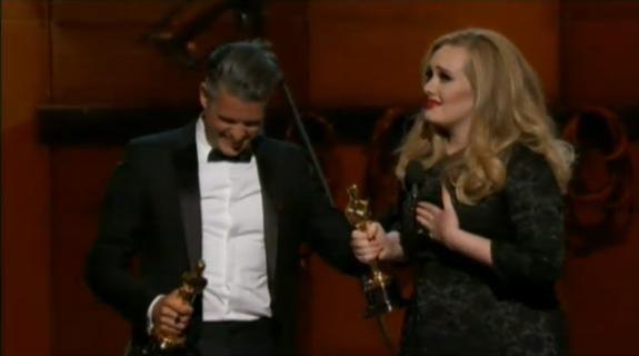 Adele, Oscar de la meilleure chanson originale pour Skyfall