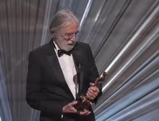 Michael Haneke, Oscar du meilleur film étranger avec Amour