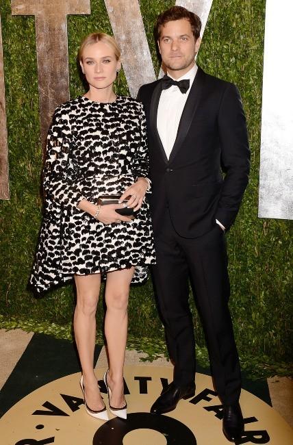 Diane Kruger et Joshua Jackson le 24 février 2013 à Los Angeles