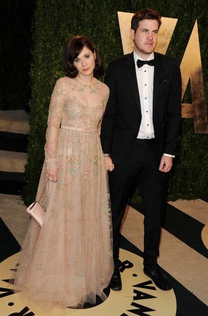 Zooey Deschanel et son boyfriend Jamie Linden le 24 février 2013 à Los Angeles