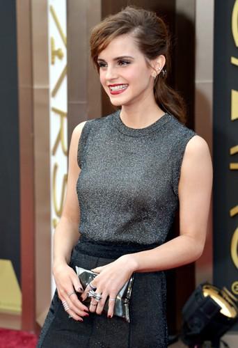 Emma Watson à Los Angeles le 2 mars 2014