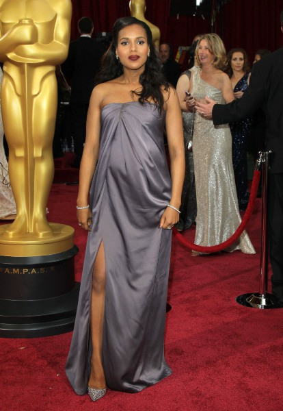 Kerry Washington lors de la 86e cérémonie des Oscars à Hollywood, le 2 mars 2014.