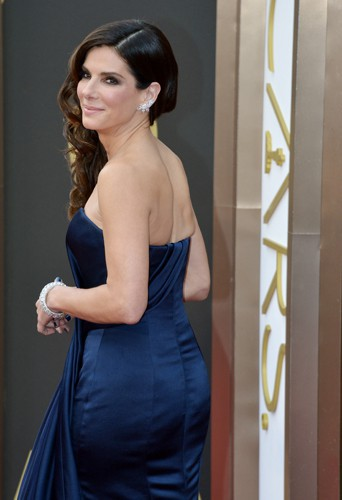 Sandra Bullock à Los Angeles le 2 mars 2014