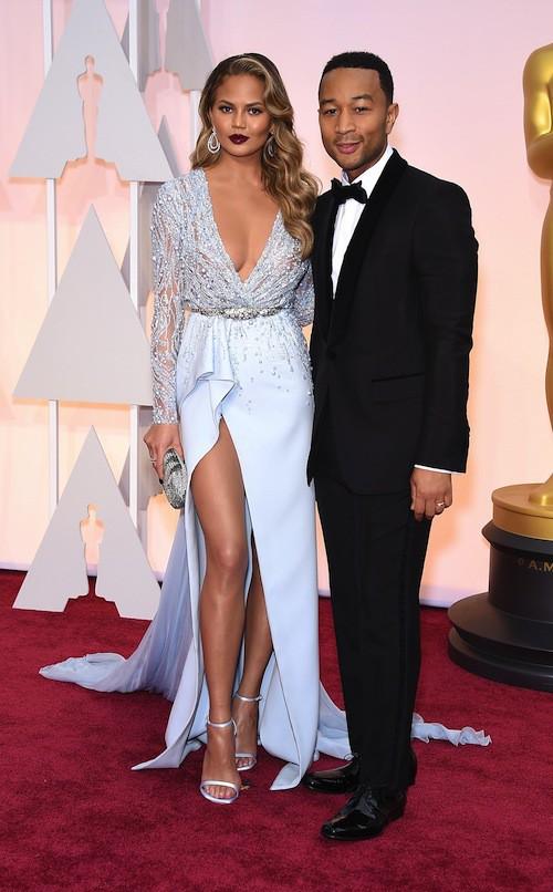 Oscars 2015 : Chrissy Teigen et John Legend