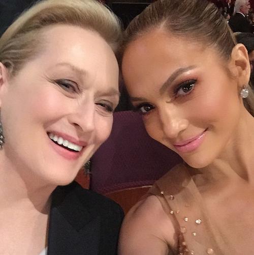 Photos : Oscars 2015 : Jennifer Lopez et Meryl Streep