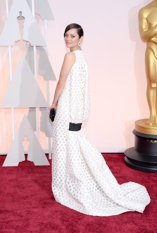 Photos : Oscars 2015 : Marion Cotillard : bredouille mais élégante à Hollywood !