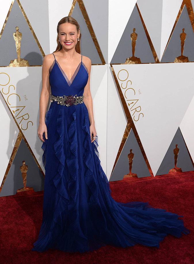 Brie Larson, sublime dans sa robe Gucci
