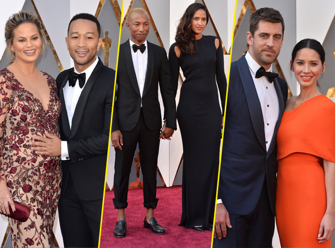 Photos : Oscars 2016 : Chrissy Teigen et John Legend ...