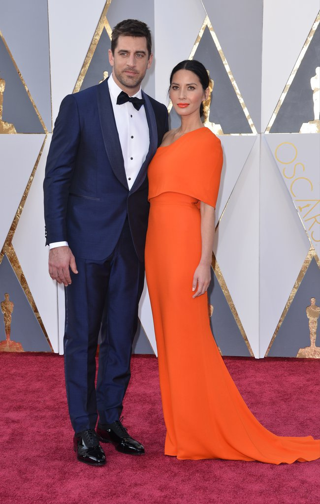 Olivia Munn et Aaron Rogers