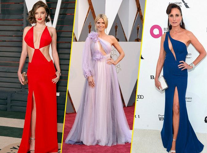 Oscars 2016 : Miranda Kerr, Heidi Klum, Andie MacDowell : un trio de bombes sur red carpet !