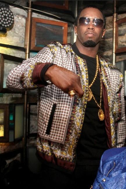 P.Diddy fête la sortie de la mixtape de sa chérie
