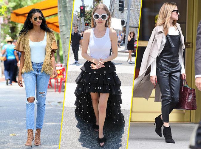 Palme Fashion : Chanel Iman, Gigi Hadid, Olivia Palermo ... Qui a été la plus stylée de la semaine ?