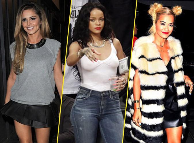 Cheryl Cole, Rihanna et Rita Ora