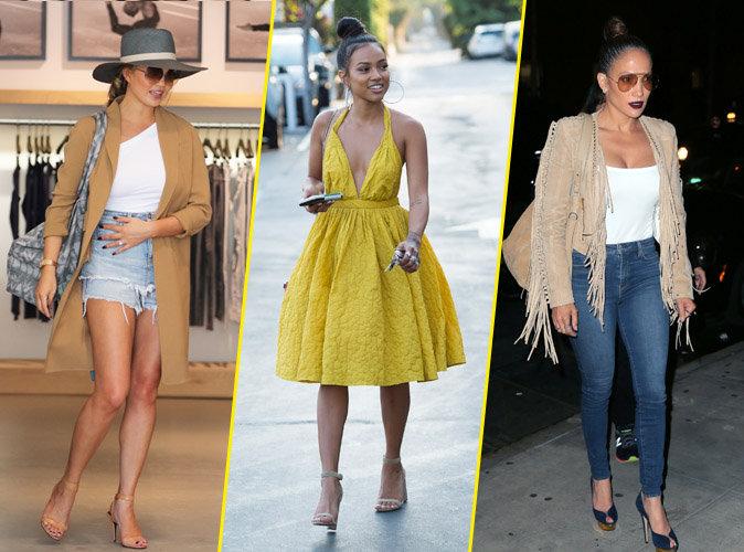 Palme Fashion : Chrissy Teigen, Karrueche Tran, Jennifer Lopez... Qui a �t� la plus styl�e de la semaine ?