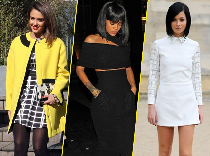 Jessica Alba, Rihanna et Leigh Lezark.