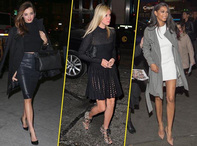 Miranda Kerr, Nicky Hilton et Chanel Iman.