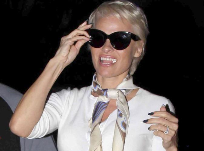 Photos : Pamela Anderson : la bimbo a laissé place à une pin-up BCBG !