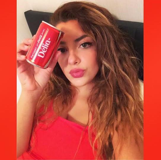 Délia, séléctionnée par Coca-Cola !