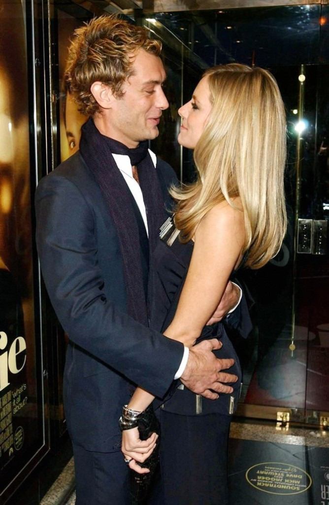 Sienna Miller & Jude Law !