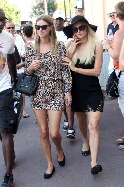 Nicky et Paris Hilton à Saint-Tropez !