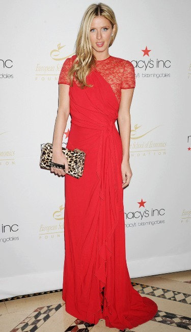 Nicky Hilton lors de la soirée Economic Scholarship Program Gala Dinner à New York, le 5 décembre 2012.