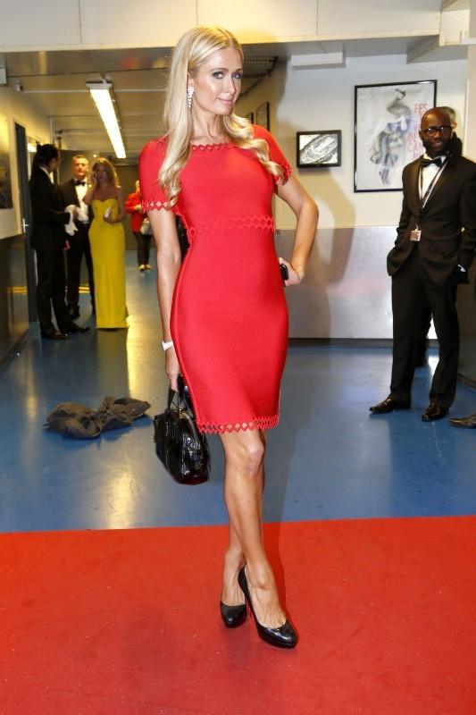 Paris Hilton au Festival de Cannes, le 16 mai 2013