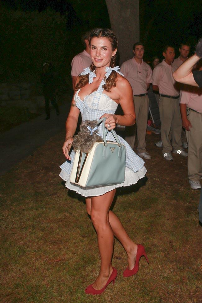 Elisabetta Canalis à la soirée Halloween organisée le 24 octobre 2014 à Beverly Hills