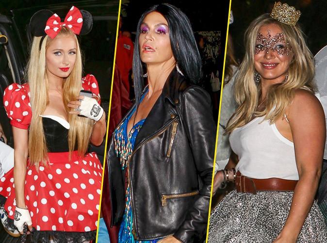 Paris Hilton, Cindy Crawford, Hilary Duff... Halloween 2014, c'est parti !
