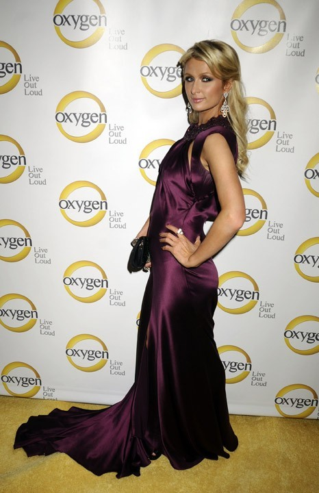 Paris Hilton lors de la soirée Oxygen Media's 2011 à New York, le 4 avril 2011.