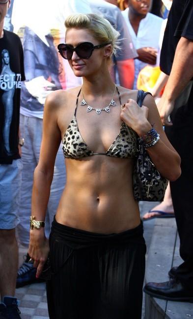 Paris Hilton à Miami, le 22 mars 2012.