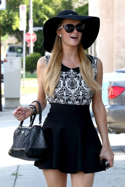 Paris Hilton, West Hollywood, 10 mai 2013.