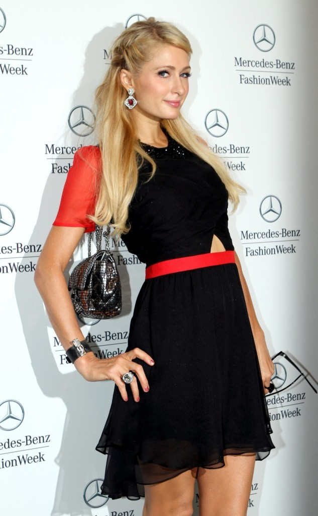 Paris Hilton, New York, 7 septembre 2012.