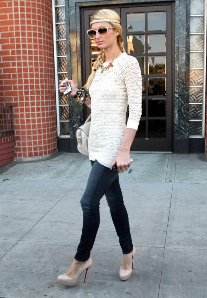 Paris Hilton à Beverly Hills, le 16 novembre 2011.