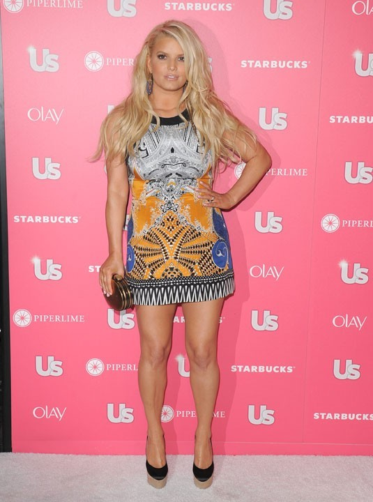 Jessica Simpson lors de la US Weekly Hot Hollywood Style Issue Party à Hollywood, le 26 avril 2011.