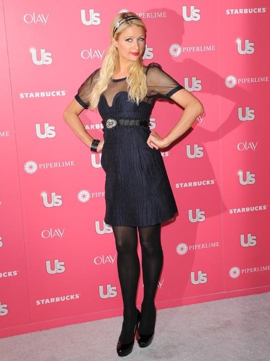 Paris Hilton lors de la US Weekly Hot Hollywood Style Issue Party à Hollywood, le 26 avril 2011.