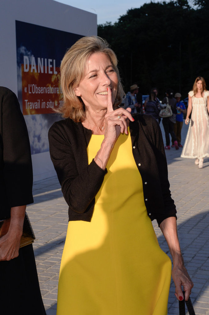 Claire Chazal au Love Ball à Paris, le 6 juillet 2016