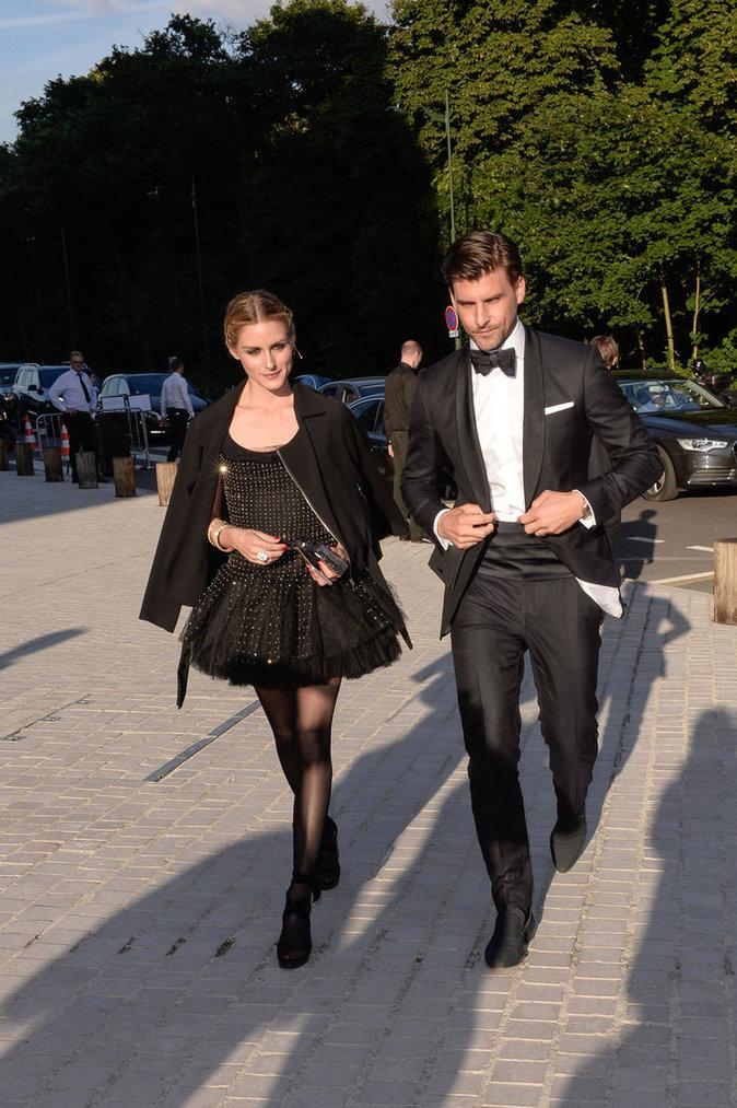 Olivia Palermo et son mari au Love Ball à Paris, le 6 juillet 2016