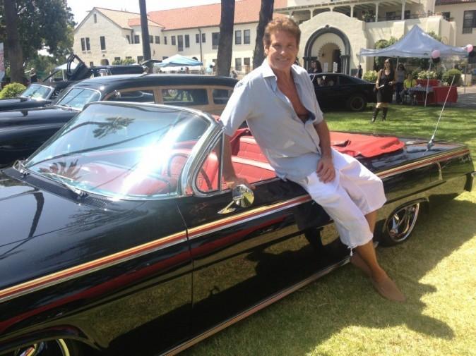 David Hasselhoff et son cadeau de fête des pères